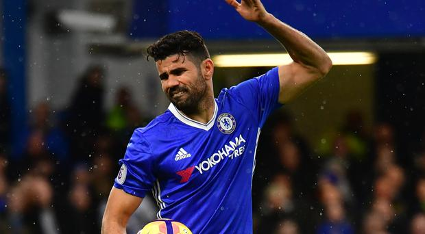 Diego Costa, pictured, is admired by Ronald Koeman