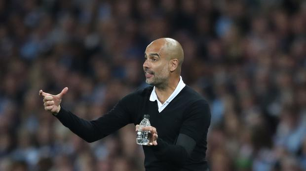 Manchester City manager Pep Guardiola is expecting a tough test against Napoli