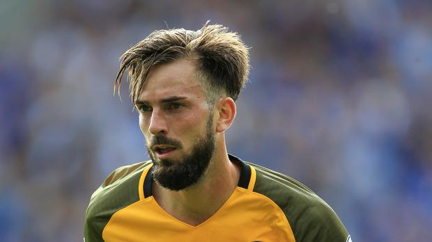 Dutchman Davy Propper is among the influx of foreign players at Brighton