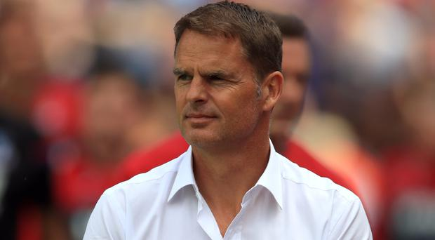 Frank de Boer has lost all three of his league games in charge of Palace