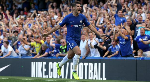 Chelsea striker Alvaro Morata says he still needs to adapt to the Premier League