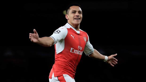 Arsenal's Alexis Sanchez is wanted by Manchester City