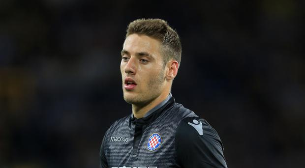 Hajduk Split's Nikola Vlasic is a target for Everton.