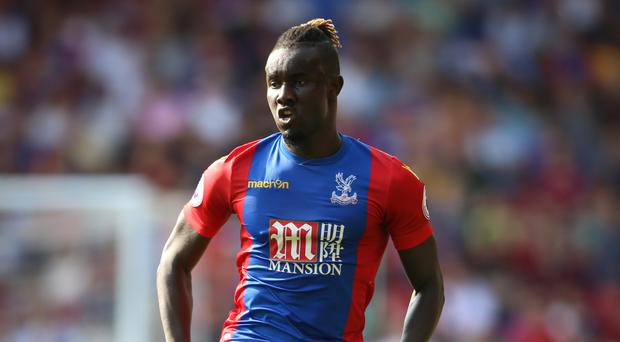 Pape Souare returned to action for Crystal Palace
