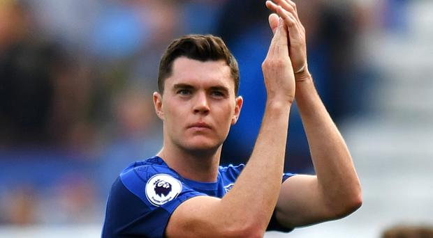 England's Michael Keane is learning all the time from Everton boss Ronald Koeman