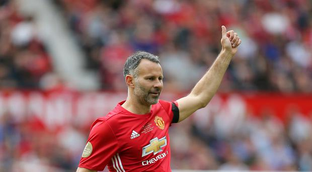 Former Manchester United star Ryan Giggs.