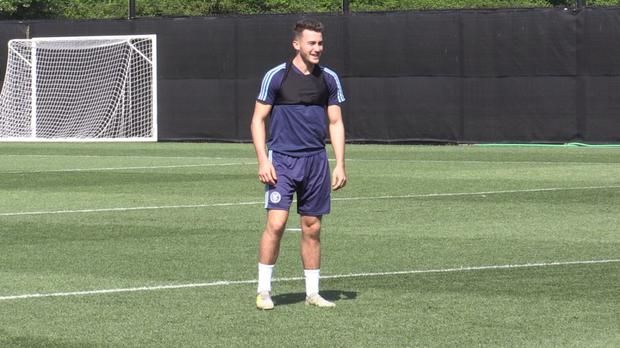 NYCFC's English attacking midfielder Jack Harrison is enjoying life in the US