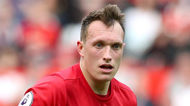 Phil Jones has one match of his European ban to serve