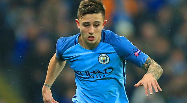 Pablo Maffeo is on loan at Girona from Manchester City