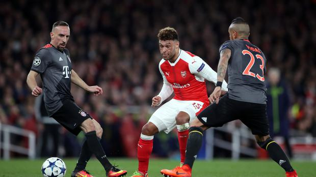 Alex Oxlade-Chamberlain is set to make his Liverpool debut against Manchester City