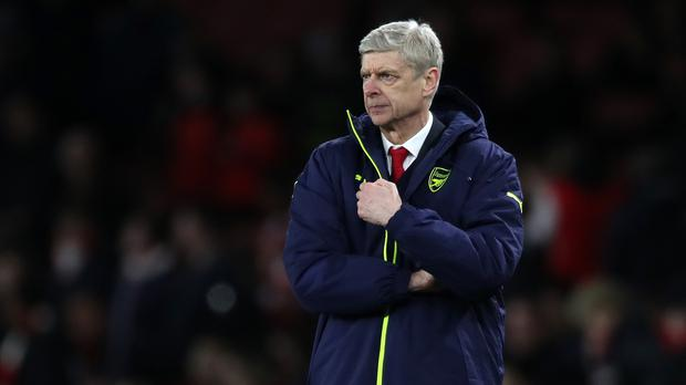 Arsene Wenger, pictured, worked closely with Dick Law