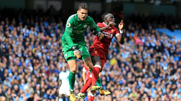 Opinion was split over Sadio Mane's red card