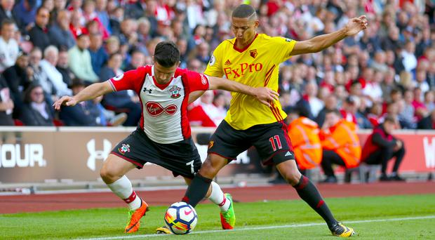 Richarlison, right, was a constant threat