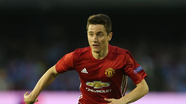Ander Herrera is waiting for a chance for for more playing time at Manchester United