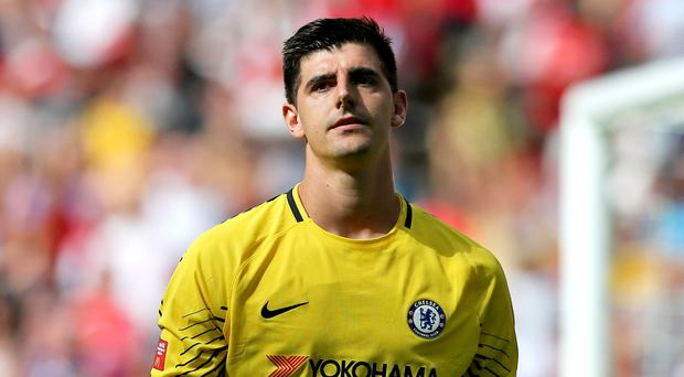 Thibaut Courtois feels the game against Arsenal comes at a good time for Chelsea