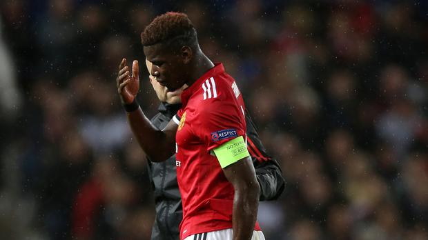 Over 100,000 Fantasy Premier League managers did the Paul Pogba hokey-cokey after the midfielder's injury