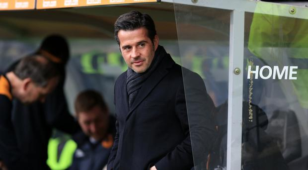 Marco Silva's unbeaten Watford face Manchester City on Saturday