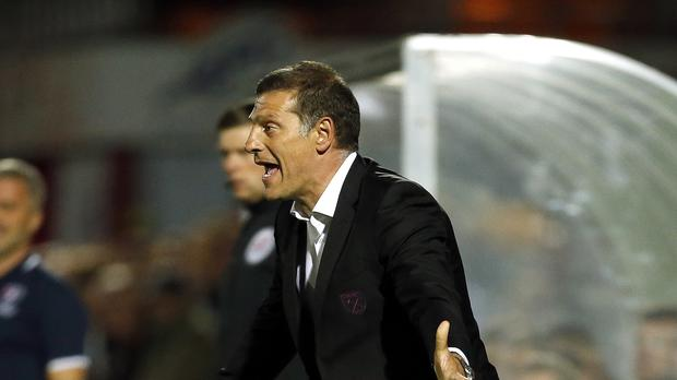Slaven Bilic said his West Ham players cannot get carried away