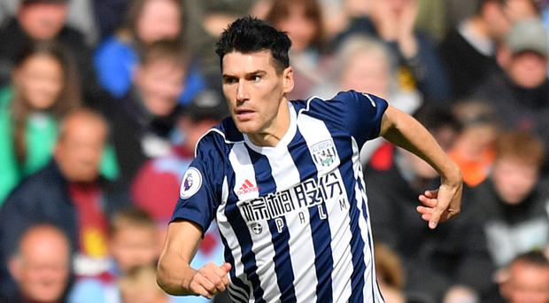 West Brom's Gareth Barry made his Premier League debut for Aston Villa in 1998