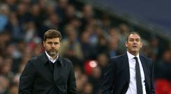 Mauricio Pochettino's Tottenham were held to a draw by Swansea