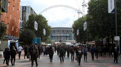 Tottenham have yet to settle at Wembley