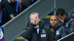 Crystal Palace manager Roy Hodgson knows he has a hard job on his hands