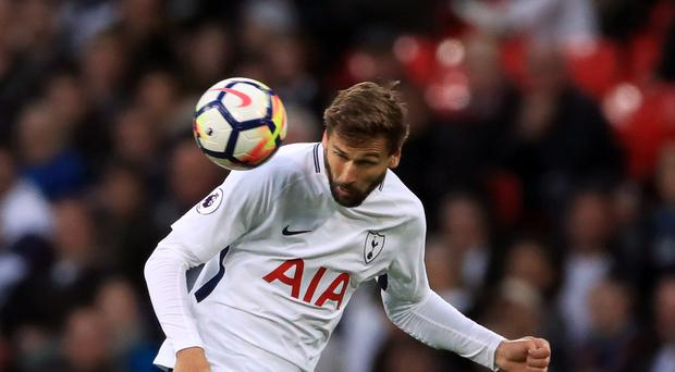 Fernando Llorente came on as a substitute against Swansea on Saturday