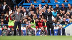 Antonio Conte and Arsene Wenger went head-to-head