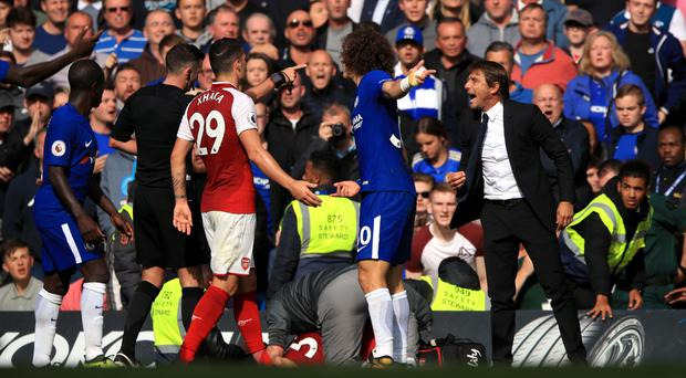 Arsene Wenger: 'David Luiz deserved red card'