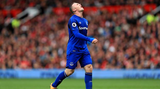 Wayne Rooney's return to Old Trafford ended on a sour note after Everton were humbled by Manchester United