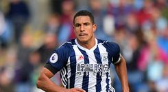 West Brom midfielder Jake Livermore has been given a short break