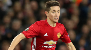 Ander Herrera helped Manchester United to a 4-0 win over Everton.