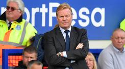 Ronald Koeman is hoping Everton can end a four-match losing run against Sunderland