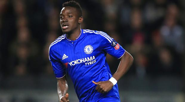Bertrand Traore joined Chelsea's youth set-up