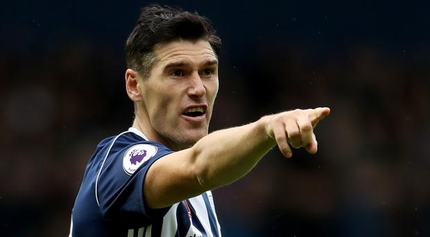 West Brom's Gareth Barry made his top-flight debut for Aston Villa in May 1998