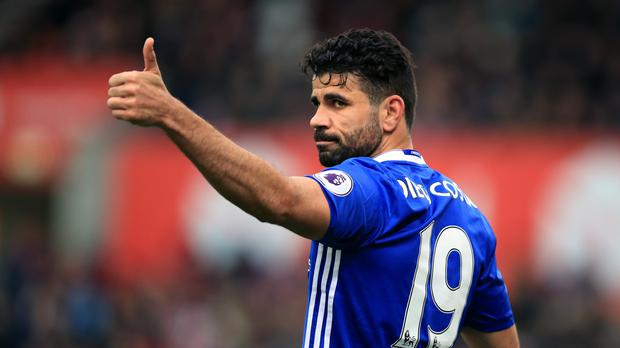 Diego Costa scored 59 goals in 120 appearances during three years at Chelsea