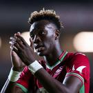 Swansea striker Tammy Abraham is wanted by Nigeria