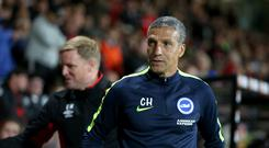 Chris Hughton's Brighton lost twice to Bournemouth in the space of five days