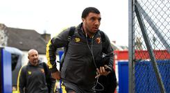 Watford captain Troy Deeney has yet to make a Premier League start this season