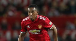 Things are looking up for Manchester United's Anthony Martial