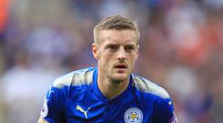 Jamie Vardy missed the midweek Carabao Cup game
