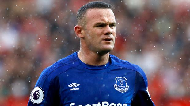 Wayne Rooney was in court on Monday