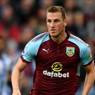 Burnley's Chris Wood had a number of chances to break the deadlock