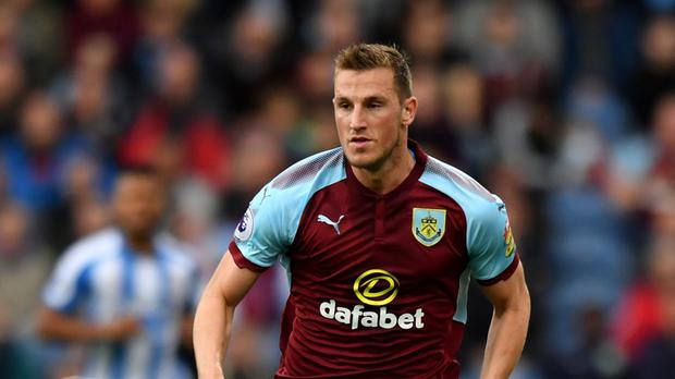 Chris Wood failed to find a goal for Burnley against Huddersfield
