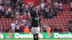 Romelu Lukaku fired Manchester United to victory over Southampton