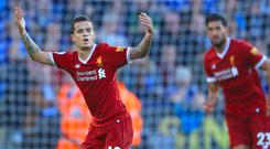 Philippe Coutinho was on the scoresheet for Liverpool