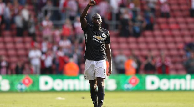 Manchester United's Romelu Lukaku got the all-important goal at Southampton