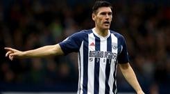 West Brom's Gareth Barry made his Premier League debut for Aston Villa in 1998.