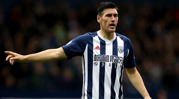 Gareth Barry has made a record 633rd Premier League appearance