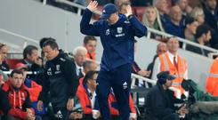 Tony Pulis, pictured, railed against Alexis Sanchez following West Brom's defeat at Arsenal